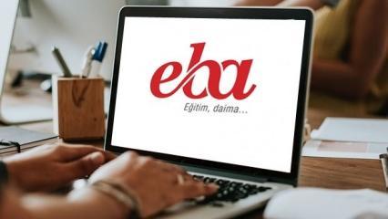 EBA TV 30 Mart - 3 Nisan ders programı yayınlandı mı? Perşembe günü hangi dersler var?