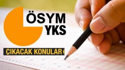 2020 YKS sınav konuları: MEB YKS sınav konularını güncelledi!