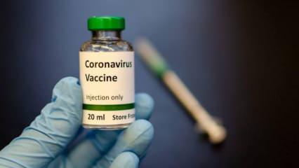 Koronavirüs aşısı için çalışan Ercüment Ovalı'dan heyecanlandıran paylaşım