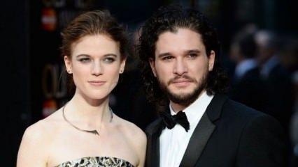 'Jon Snow' baba oluyor!