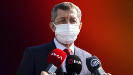 Milli Eğitim Bakanı Selçuk 'Bu artık rica değil' diyerek yüz yüze eğitimle ilgili konuştu