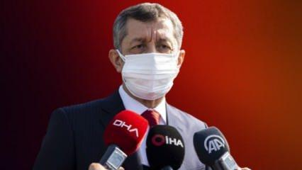 Milli Eğitim Bakanı'ndan son dakika açıklaması
