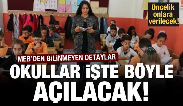 21 Eylül'de okullar böyle açılacak