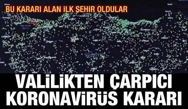 Ceza kararını alan ilk şehir Ankara oldu! Valilik'ten koronavirüs açıklaması