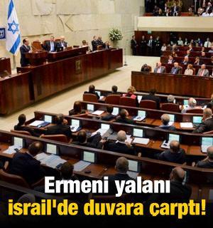 Ermeni yalanı İsrail'de duvara çarptı!