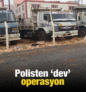 Polisten 'dev' hırsızlık operasyonu
