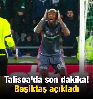 Talisca'da son dakika! Beşiktaş resmen açıkladı
