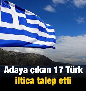 17 Türk sığınma talebinde bulundu