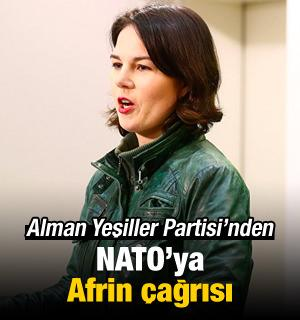 Yeşiller'den NATO'ya Afrin çağrısı