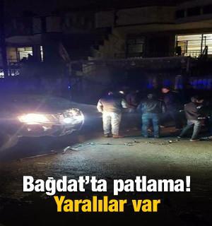 Bağdat'ta patlama: Yaralılar var