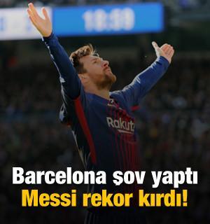 Barcelona'dan yarım düzine gol!