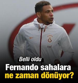 Fernando sahalara ne zaman dönüyor?