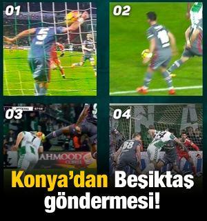 Konyaspor'dan Beşiktaş göndermesi! O mesaj...
