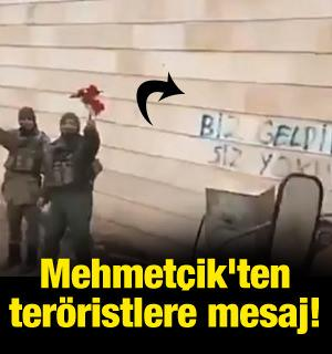 Mehmetçik'ten teröristlere mesaj!