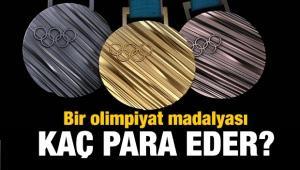 Olimpiyat madalyası kaç para eder?