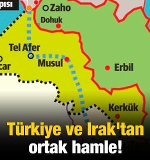 Türkiye ve Irak'tan ortak hamle