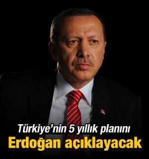 Türkiye'den 5 yıllık plan! Erdoğan açıklayacak