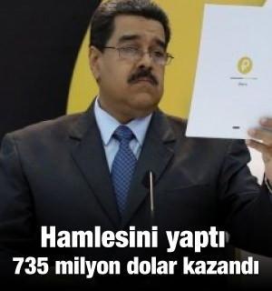 Maduro hamlesini yaptı! Ve satışta