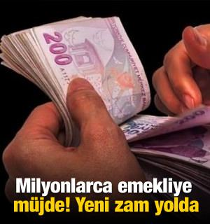 Emekliye 224 lira ek ödeme zammı