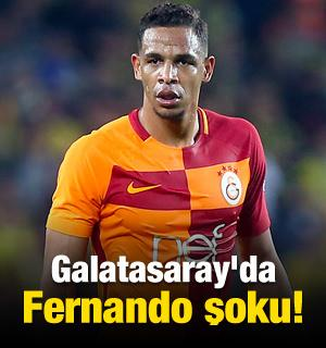 Galatasaray'da Fernando şoku!