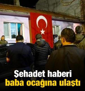 Şehit binbaşının Eskişehir'deki baba ocağı yasta