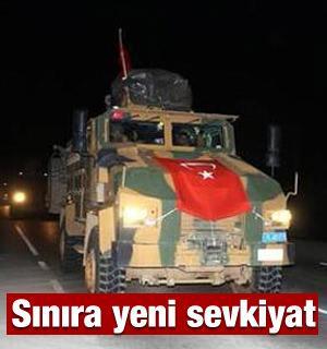 Takviye komandolar sınır birliklerine sevk edildi!