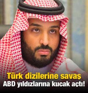 Türk dizilerine savaş ABD yıldızlarına kucak açtı!