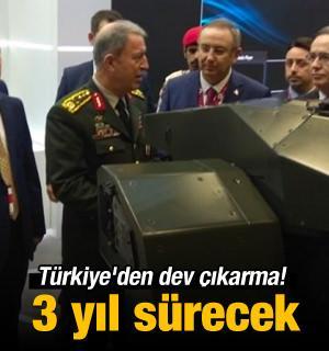 Türkiye'den dev çıkarma! Sipariş yağıyor