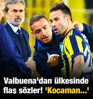Valbuena'dan ülkesinde flaş sözler! 'Kocaman...'