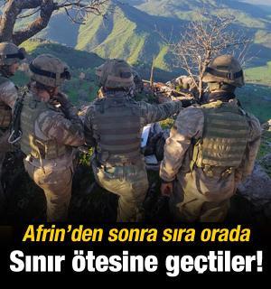 Afrin'den sonra sıra orada! Asker girdi