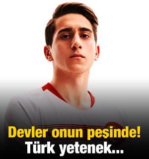 Avrupa'nın devleri peşine düştü! Türk yetenek...