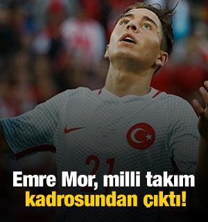 Emre Mor, milli takım kadrosundan çıktı!