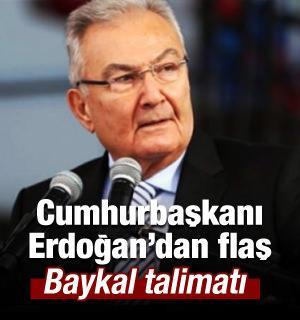 Erdoğan'dan flaş 'Baykal' talimatı!