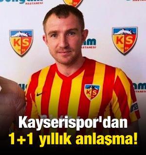 Kayserispor'dan 1+1 yıllık anlaşma!