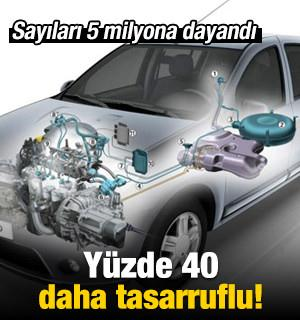 LPG'li araç sayısı 5 milyona dayandı