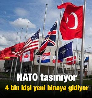 NATO taşınıyor