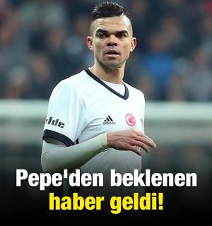 Pepe'den beklenen haber geldi!