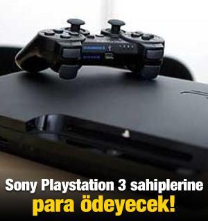 Sony Playstation 3 sahiplerine para ödeyecek!