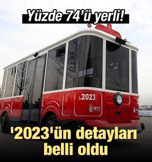 '2023'ün detayları belli oldu