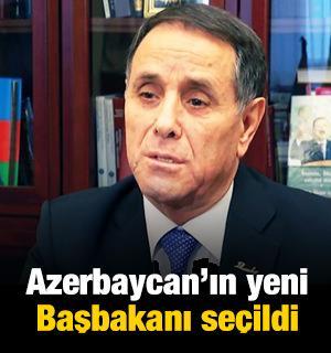 Azerbaycan'ın yeni Başbakanı seçildi