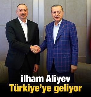 Aliyev Türkiye'ye geliyor