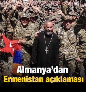 Almanya'dan Ermenistan açıklaması