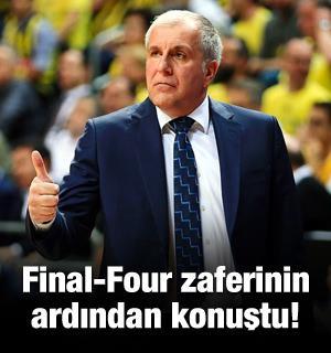Final-Four zaferinin ardından konuştu!