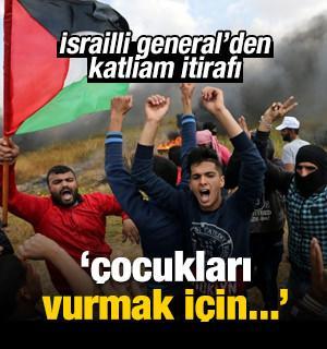 İsrail ordusundan katliam itirafı