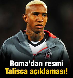 Roma'dan resmi Talisca açıklaması!