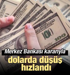Dolarda rüzgar tersine döndü! Düşüş hızlandı