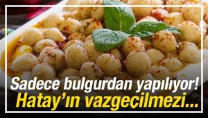 """Bulgurun en lezzetli hali """"Fellah köftesi"""""""