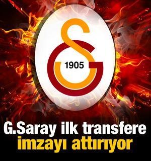 G.Saray ilk transferine imza attırıyor!