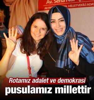 'Rotamız adalet ve demokrasi, pusulamız millettir'