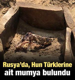 Rusya'da, Hun Türklerine ait mumya bulundu